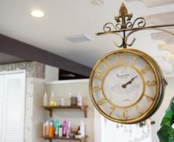美容室の時間のイメージ